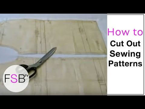 Sewing Circle: How to cut out the right pattern size