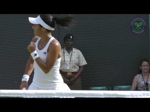 2015 Day 3 Highlights, Daniela Hantuchova vs Heather Watson
