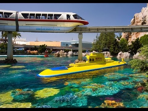 FINDING NEMO Submarine Voyage (FULL RIDE) Disneyland POV (1080p HD)