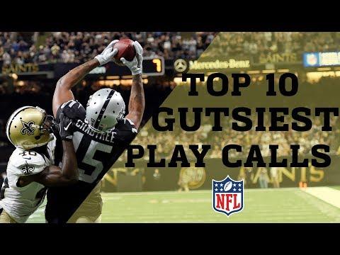 Top 10 Gutsiest Play Calls  NFL