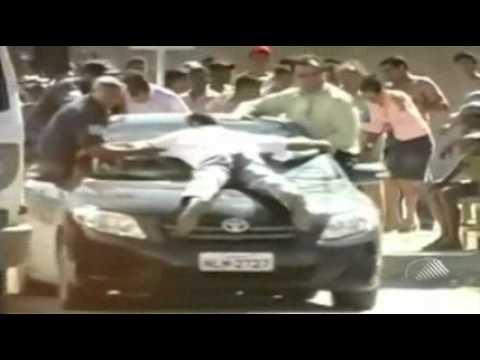 Pânico durante assalto ao Banco do Brasil na Bahia - Galdinosaqua