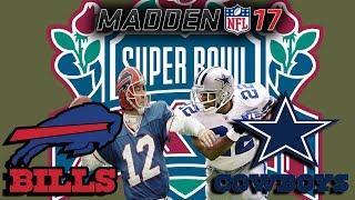 1993 Super Bowl - Bills vs. Cowboys - Madden 17