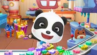 Little Panda's Candy Shop educational game   lollipops, animals and colors