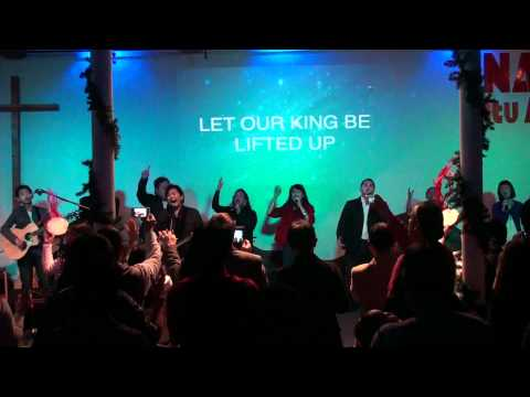 Hai Mari Berhimpun &  Be Lifted High(hosanna) By Sidney Mohede video