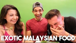 Bizarre Foods of Malaysia (FOREIGNERS EAT MALAYSIAN FOOD)