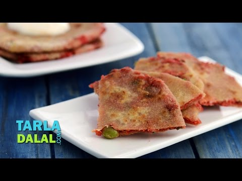 Paneer and Vegetable Paratha (Toddler Recipe) By Tarla Dalal