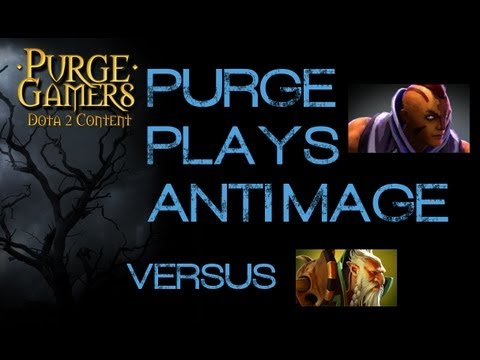 Dota 2 Purge plays Anti Mage