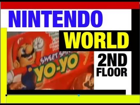 Nintendo World PART 2 Upstairs Tour by Mike Mozart @JeepersMedia