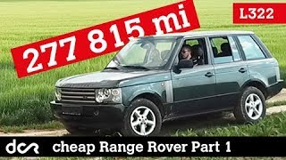 I bought the Cheapest Range Rover in the EU with 447 100 km
