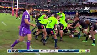 Highlights - Sharks v Highlanders