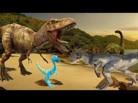 СБОРНИК. Динозавры для детей. Мультфильмы 2017. Детский кана.