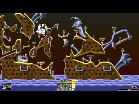 Worms Armageddon - 1 vs 30 Speed Run