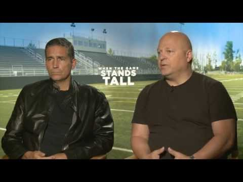 Game Stands Tall - Fr. Mark  Interviews Jim Caviizel &  Michael Chiklis