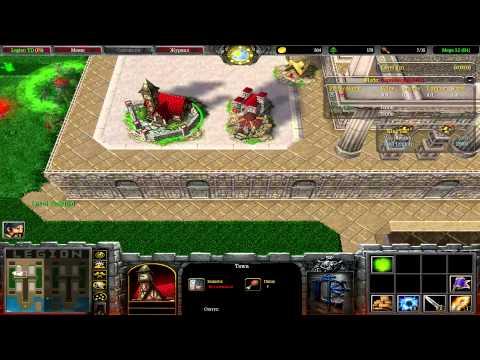 Warcraft 3/maps #9: играй как бот в stronghold 3teams