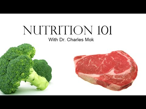 """Nutrition 101"" with Dr. Charles Mok"