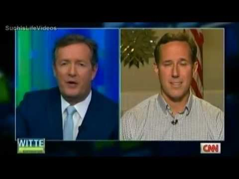 Piers Morgan Confronts Rick Santorum On His Bigotry