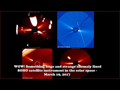 WOW! Giant anomaly in space fixed by SOHO satellite tool - March 19, 2017