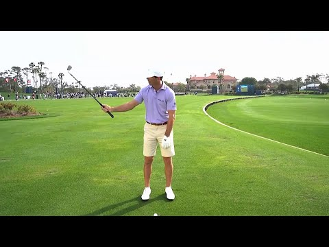Billy Horschel's lob wedge drill to warm up on the range