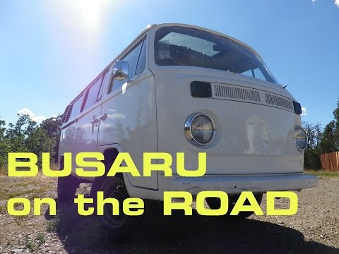 Subaru powered VW Bus on the road - Busaru engine conversion part 11