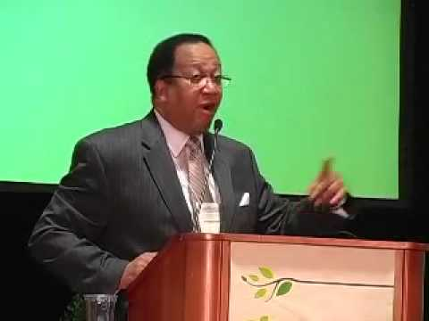 Dr. Benjamin Chavis speaks at Washington DC Green Festival, Sunday September 30, 2012