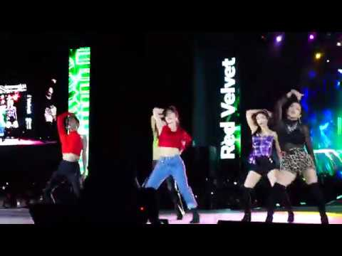 190118 Red Velvet - RBB Really Bad Boy (SMTOWN In Chile)
