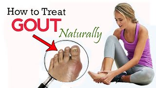 How to Treat Gout Naturally at Home    Home Remedies for Gout