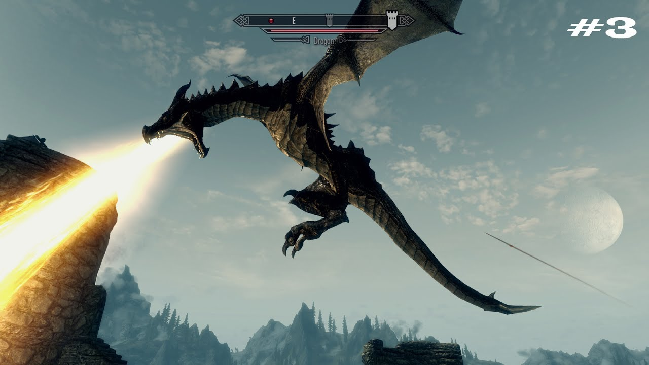 Как сделать своего дракона в скайриме