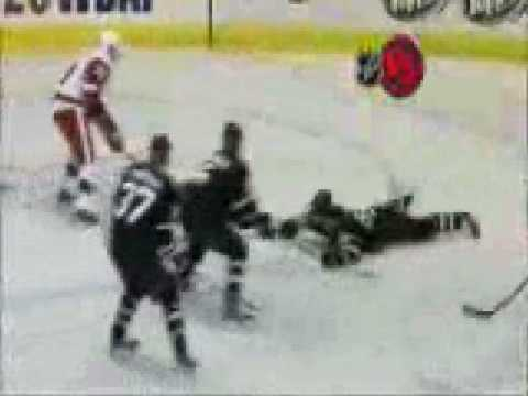 Pavel Datsyuk Dangles Daryl Sydor and beats Marty Turco Detroit Red Wings vs Dallas Stars Video