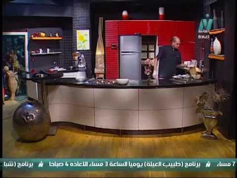 جينواز بدون محسن - تورتة كريمة لباني او شانتيه - من كل بلد اكلة - الشيف خالد على - حلقة 30-8-2013