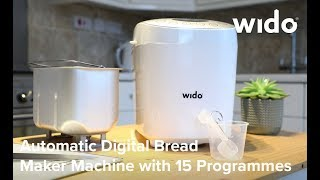 Wido Bread Maker Product Video (BREADM)