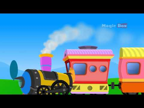 Train - Malayalam Cartoon Nursery Rhymes - Kingini Chellam video