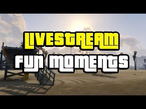 GTA 5 Online Fun Moments with Friends LIVE!
