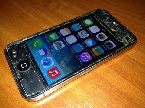 Замена экрана на iphone 4 своими руками