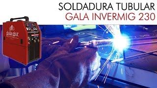 Gala Invermig Syner 230 MP: soldadura TUBULAR