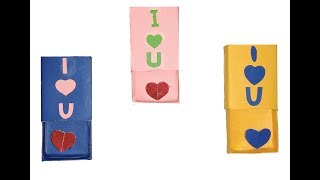MATCH BOX LOVE CRAFTS ! DIY Tiny Love craft Surprise Gifts for Boyfriend or Girlfriend