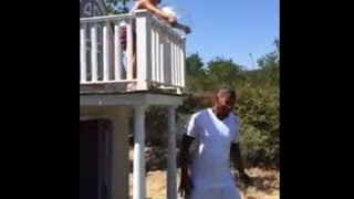 Jamie Foxx Ice Bucket Challenge WOW