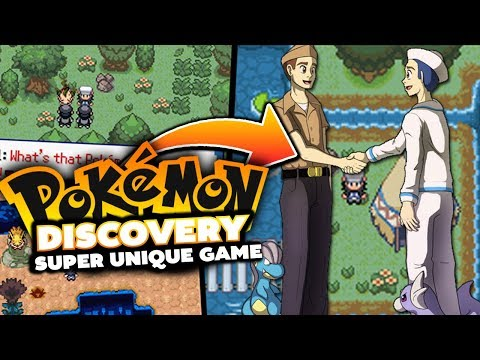 MOST UNIQUE ROM HACK EVER!? - Pokémon Discovery - Rom Hack Showcase & Gameplay