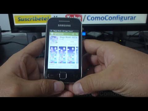aplicacion para Cambiar el Tema de Android samsung Galaxy y S5360 español Full HD