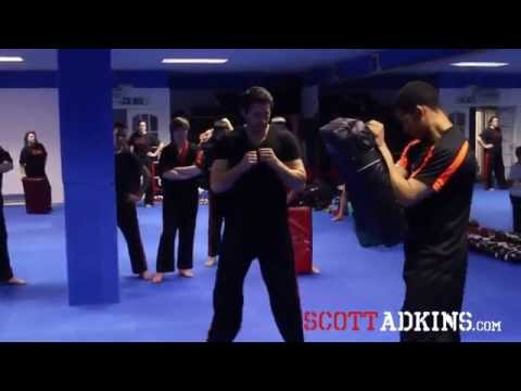 Scott Adkins Power Kicking Seminar 2014