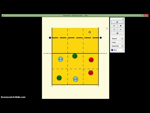 sistema táctico en voleibol