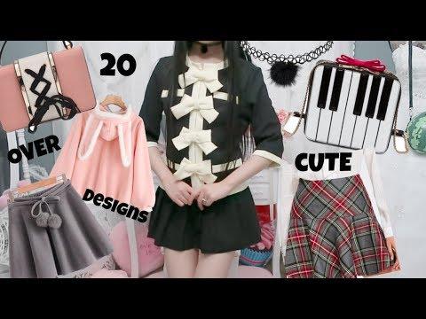 Over 20 Adorable Fashion Design Ideas! Huge Unboxing Fashion Haul!