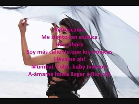 Priyanka Chopra Ft Pitbull - Exotic Sub Español video