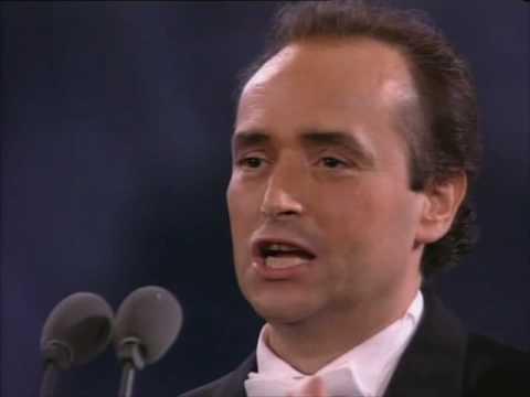 Jose Carreras -L'improvviso-7/7/1990 Rome
