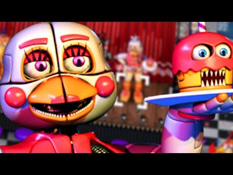 FUNTIME CHICA UNLOCKED! || Five Nights at Freddys 6 (EASTER EGG)