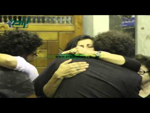 علاء عبد الفتاح يتقدم إستقبال عزاء والده بعمر مكرم