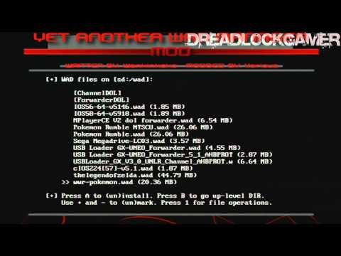 Install USB Loader GX V3.0 Wii 4.2    DreadlockGamer