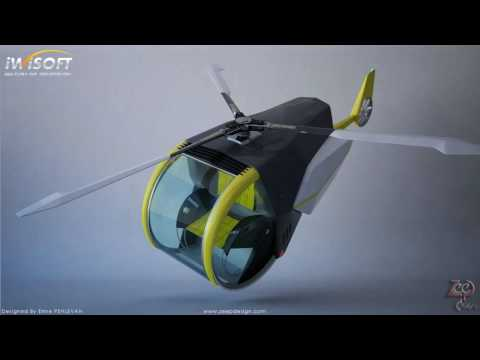CCC Flying Car Concept by ZEEP Design