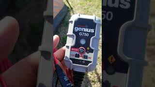 Noco genius g750 battery charger excise battery prowler 30 trolling motor