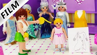 Playmobil Film deutsch | Hannah Vogel als MODEDESIGNERIN? Fashion Winterkollektion 18/19 Kinderfilm