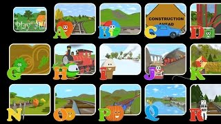 Choose Your Favorite Letter to Watch! - The Alphabet Adventure with Alice and Shawn the Train